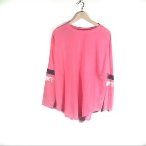 Cute Pink 1992 long sleeve tee Xl by About a Girl
